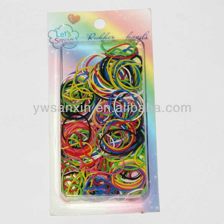 Color fabric elastic rubber band