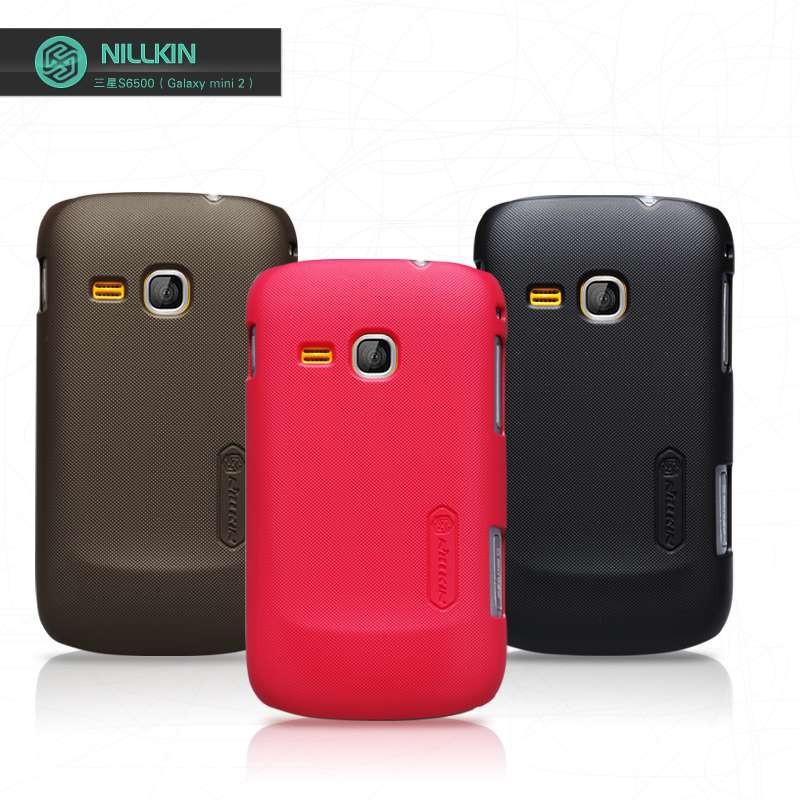 Nillkin Matte Textured Super Shield Hard Rear Case Back Cover For Samsung Galaxy Mini 2 S6500