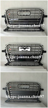 Car accessories mesh front grill apply for Audi Q5 auto body kit sq5 style grill