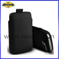 Pull Tab Leather Case Pouch For Sony Xperia E,For Sony Xperia E Case Cover,Laudtec
