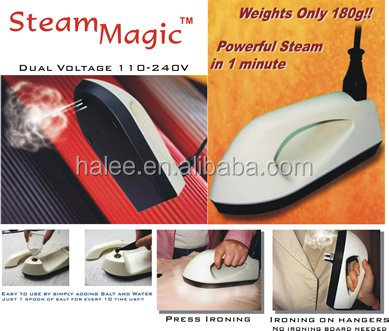 Portable Travel Steamer Brush Mini Electric Steam Iron