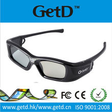 USB Rechargeable 3D Video Glasses GL410 for Multimedia Use