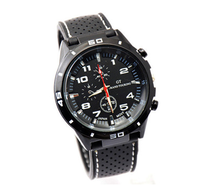 Quartz Watch New Men Clock Fashion Military Sport Casual GT Watches Quality Relogio Silicone Quart-watch