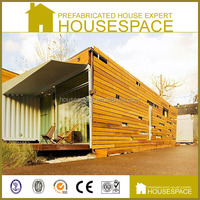 Luxury Fast Build Wooden Decorated prefab container homes for sale