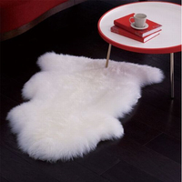 Anti-slip thin mat animal skin carpet rug hotels bath rug