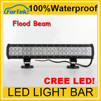Anti Fog 18W/36W/72W/108W/126W/144W Cree double row car 12 volt led light bar 4X4 off road, ATV, UTV, SUV, forklift, led truck