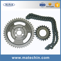 OEM Cnc Machining Small Stainless Steel Link Chain And Sprocket