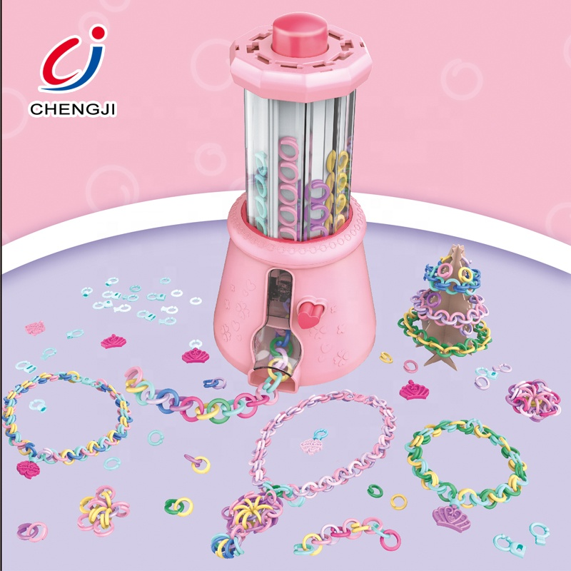 Colorful Fashion Girl Juguetes Beauty Play Set Making Jewelry DIY <strong>Toys</strong>, Jewelry DIY Plastic Ring <strong>Toys</strong>