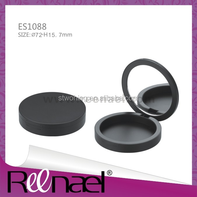 Empty cosmetic/make up Compact Powder Case in packaging boxes