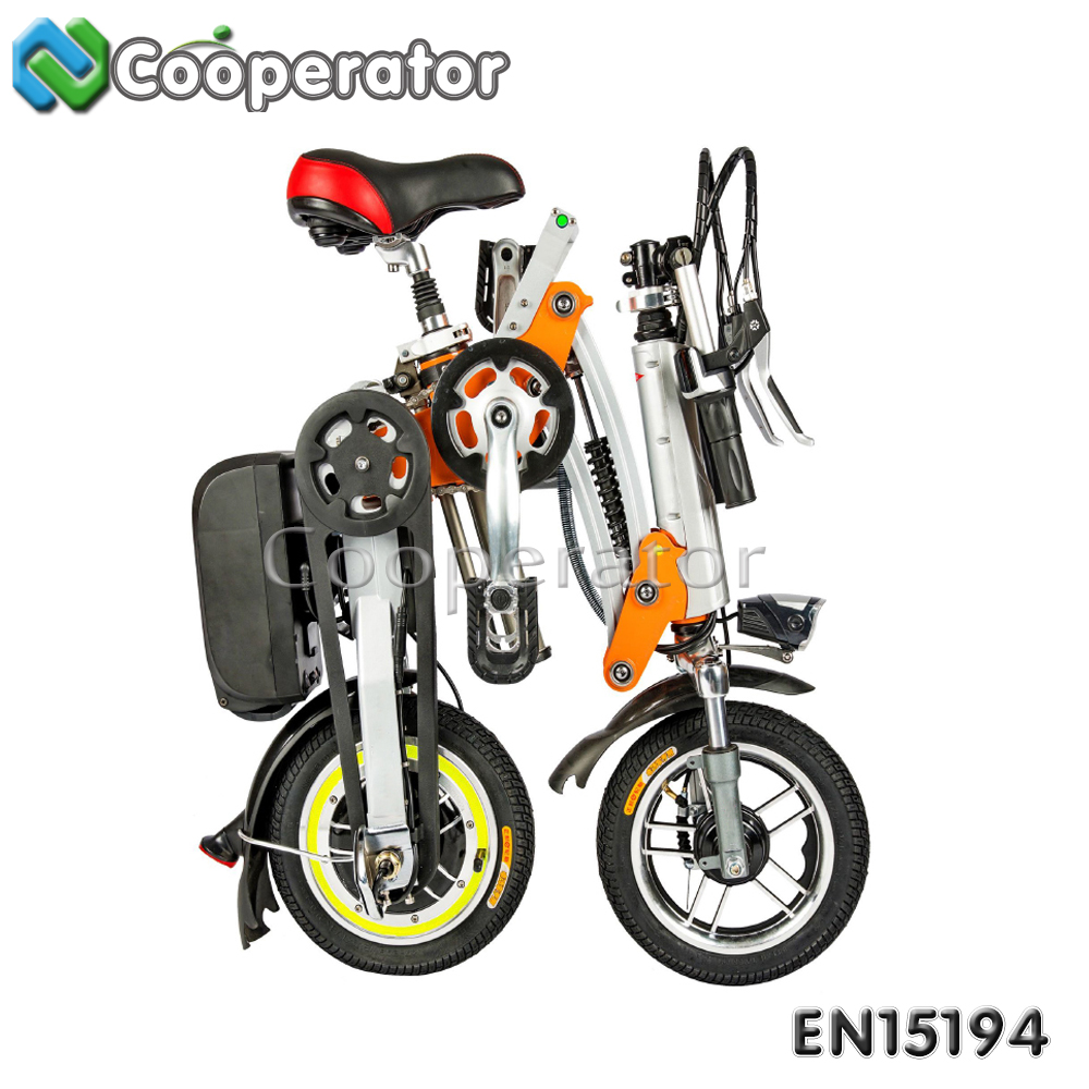 CE Approval 12 Inch 36V lithium battery Smart Mini Folding Electric Bike, Electric Bicycle