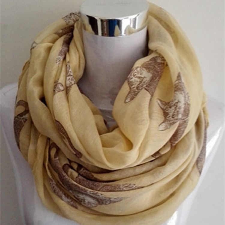 Top selling custom design long soft ladies scarf acrylic scarf from China