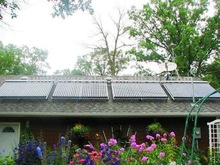 Wall mounted Solar Collector for Home Use