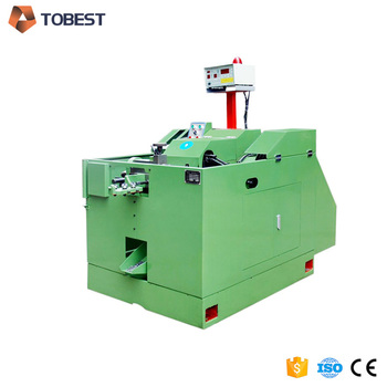 high speed automatic heading machine bolt head forming machine