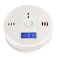 10 Year Intelligent Battery Lowes Carbon Monoxide Gas Detector for Home Use