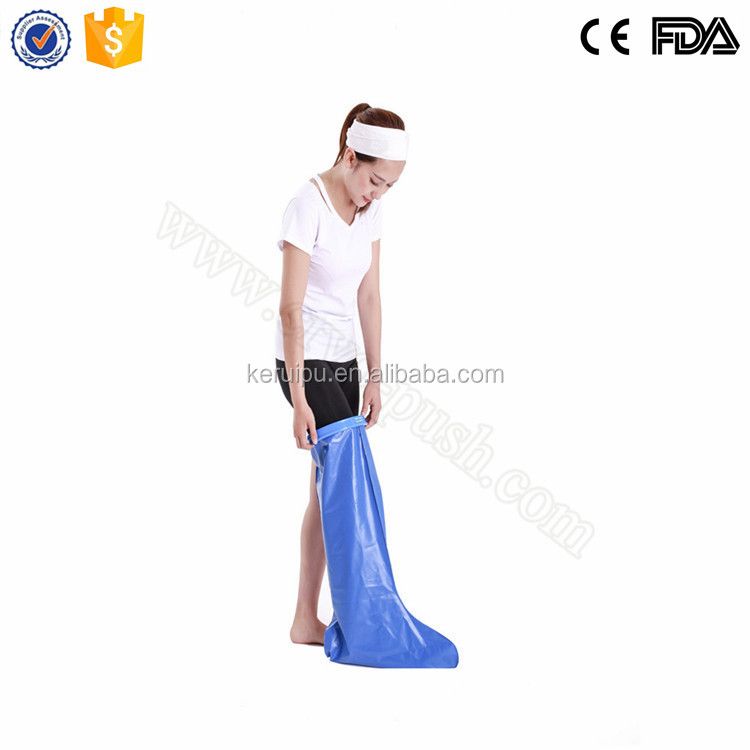 Orthopedic shower plaster waterproof cast protector ankle waterproof covers