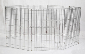Metal Dog Kennel 75X60cmX8 Parts