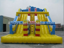 hot sale exciting slides kids inflatable water slider
