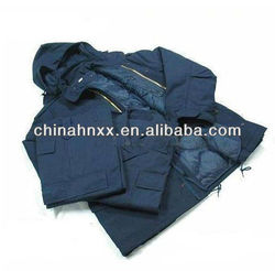 Waterproof with fur liner Alpha M65 Army clothing