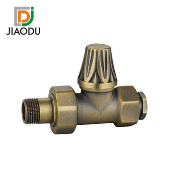 217-J Brass Thermostatic Radiator Valve