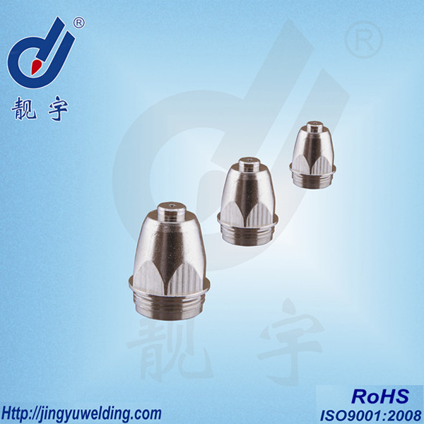 P80 Plasma Cutting nozzle and tip welding parts