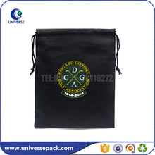 Black Packaging Custom Leather Golf Bag With Brand Name