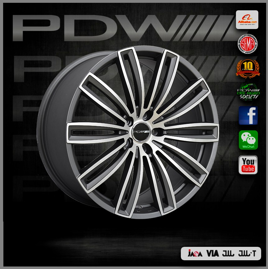PDW brand replica OZ racing wheels, China alloy wheels factory since 1983