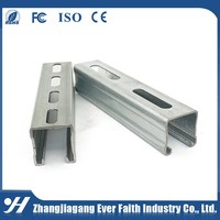 Structural Steel China Supplier Good Reputation C Channel Specification