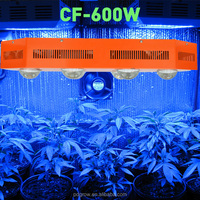 high lumen led grow light 200w/600w/1000w led grow light heating lamps for greenhouses