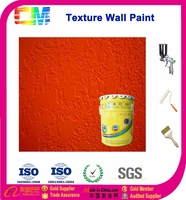 Waterborne Odorless Decorative Red Emulsion Interior Wall Paint Acrylic Latex Paint