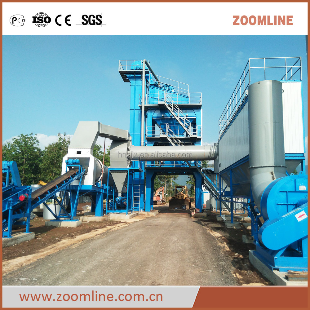 Full Automatic Mobile Asphalt Batch Mixing Plant for sale
