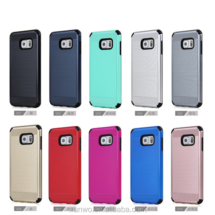 US market trending shock proof cell phone spare parts tough slim brush armor mobile back cover case for samsung Grand Prime