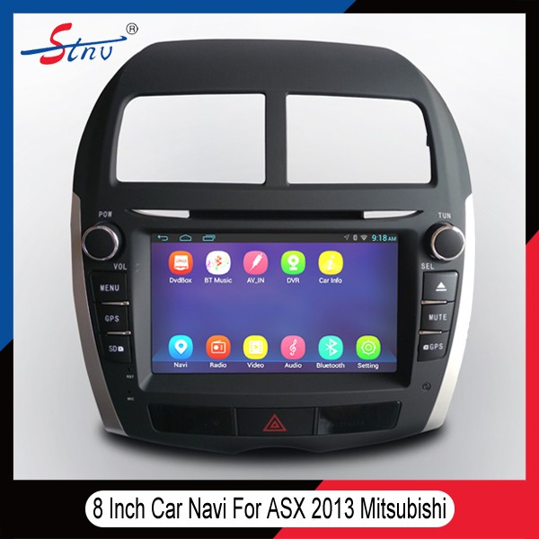 8 Inch Car GPS DVD For ASX Mitsubishi With DAB/Navigation/WIFI/SWC