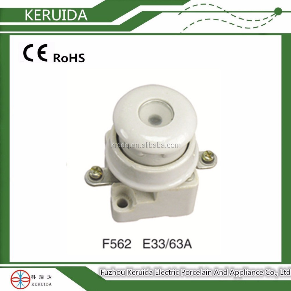 63A ceramic screw type fuse holder/fuse unit/fuse base