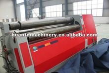 3 and 4 Roller spiral plate rolling machine, steel sheet winding machine, teflon sheet roll machine