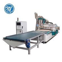 China manufacture automatic loading and unloading cnc nesting machine auto feeding cnc router
