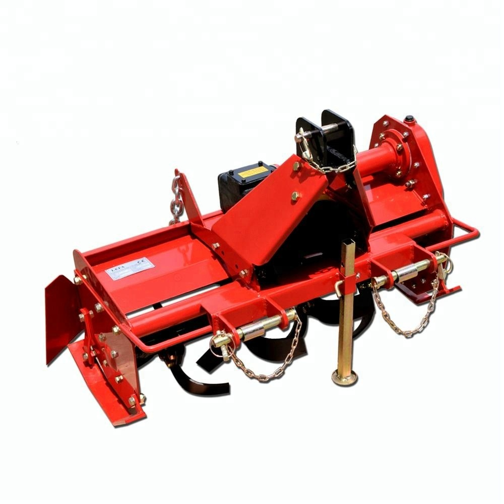 how to operate a rotary tiller