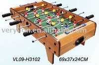 popular table wooden mini soccer football game in standard size