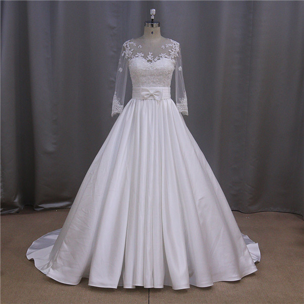 Fashion product ball gown royal blue and white wedding dresses