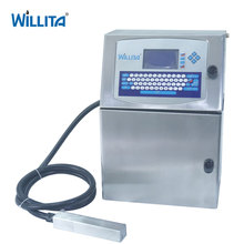 Multi Language Small Character Continuous Permanent Ink Jet Printer