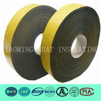 Adhesive Backed rubber insulation foam tape