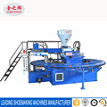 Automatic PVC air blowing molding machine with 36 stations