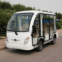 8 Passenger Electric Sightseeing Bus vehicle for Resort Use