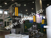 water ring pelletizer waste plastic recycling machine