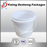 4L Printed PP Plastic Bucket For