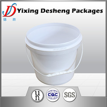 4L printed PP Plastic bucket for coating, latex paint
