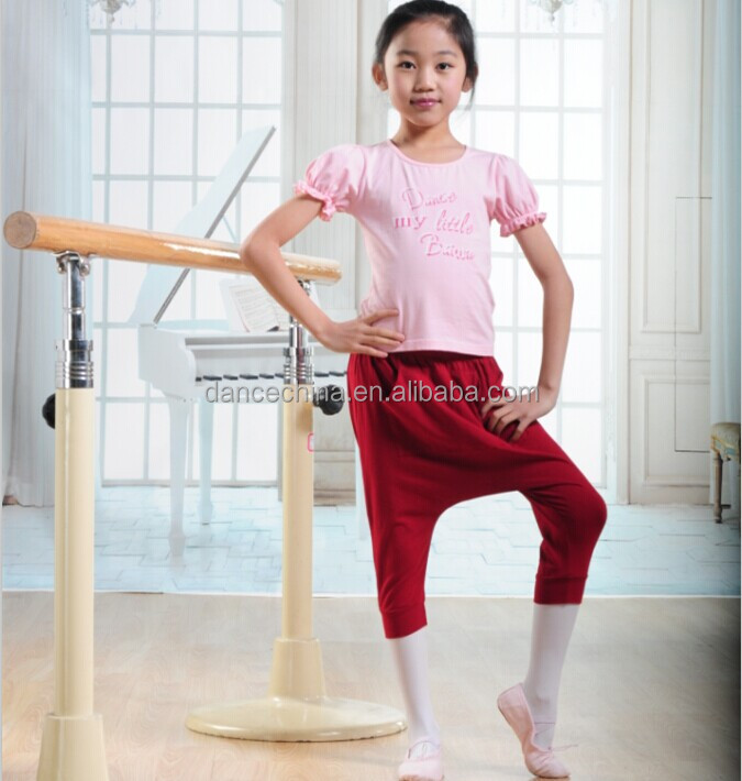 11421202 Children Short Sleeve Top children dance wear