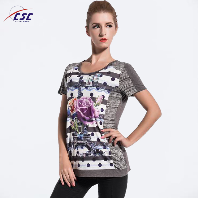 China Products Women Clothing Ladies Top in Fancy Design