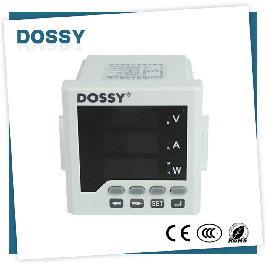 72*72 intelligent single phase digital hz frequency meter