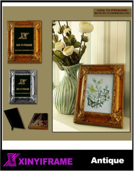 squareness wood frame photo frame antique style strong