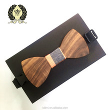 New Design Mens Pocket Square Bow Tie Set Wood Tie special offer Bowties Wedding Business Suit Wooden Bow Ties